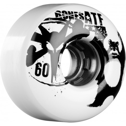 BONES WHEELS ATF Da Bear 60mm White 4pk