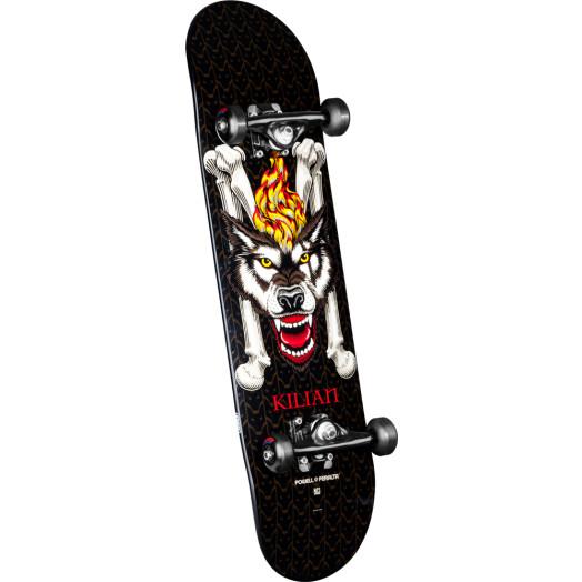 Powell Peralta LIGAMENT Kilian Martin Wolf Custom Complete Skateboard - 8 x 32.125
