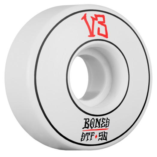BONES WHEELS STF Annuals Skateboard Wheel Slims 50mm 4pk White