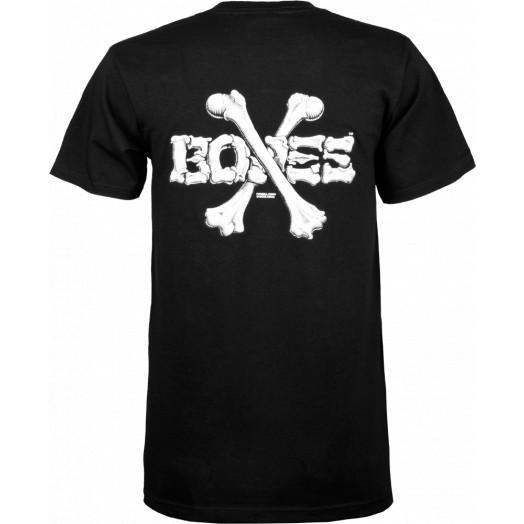 Powell Peralta Cross Bones T-shirt - Black