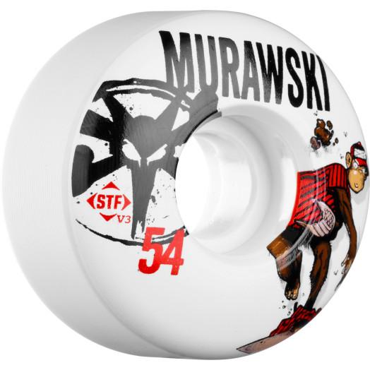 BONES WHEELS STF Pro Murawski Spitball 54mm 4pk