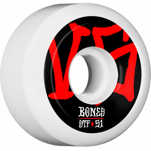 BONES WHEELS STF Annuals Skateboard Wheels V5 51mm 103A 4pk