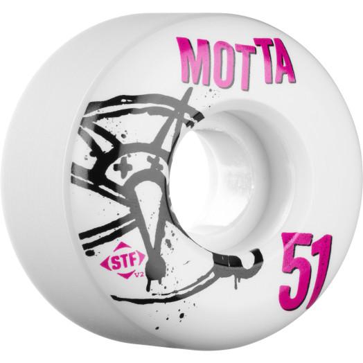 BONES WHEELS STF Pro Motta Numbers 51mm 4pk