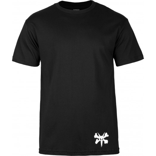 BONES WHEELS T-shirt Hipster Black