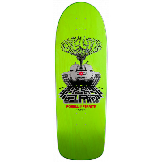 Powell Peralta Limited Edition Gelfand OLLIE Tank Skateboard Deck - 10 x 30