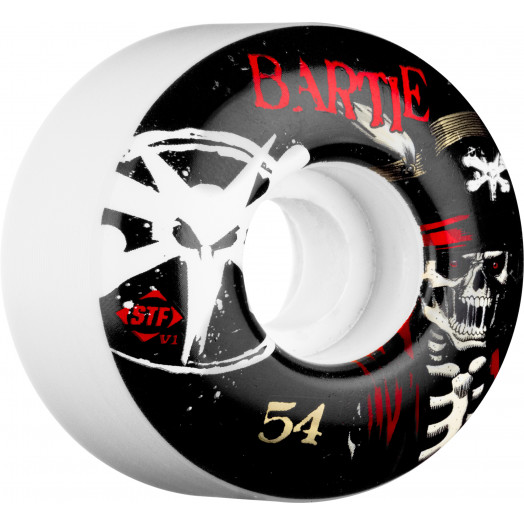 BONES WHEELS STF Pro Bartie Scurvy 54mm (4 pack)