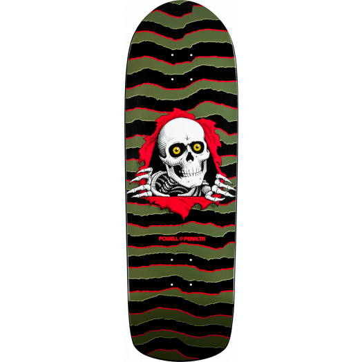 Powell Peralta Old School Ripper Olive Deck - 10 x 31.75