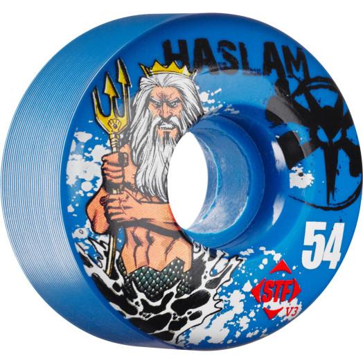 BONES WHEELS STF Pro Haslam Poseidon Blue 54mm 4pk