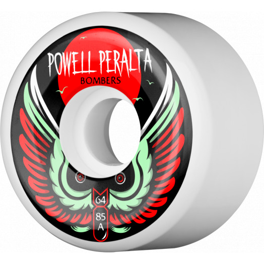 Powell Peralta Bomber Wheel 3 64mm 85a 4pk