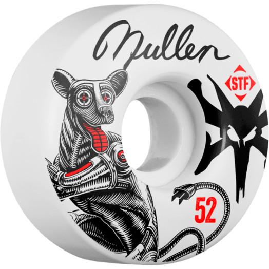 BONES WHEELS STF Pro Mullen Mutt 52mm wheels 4pk