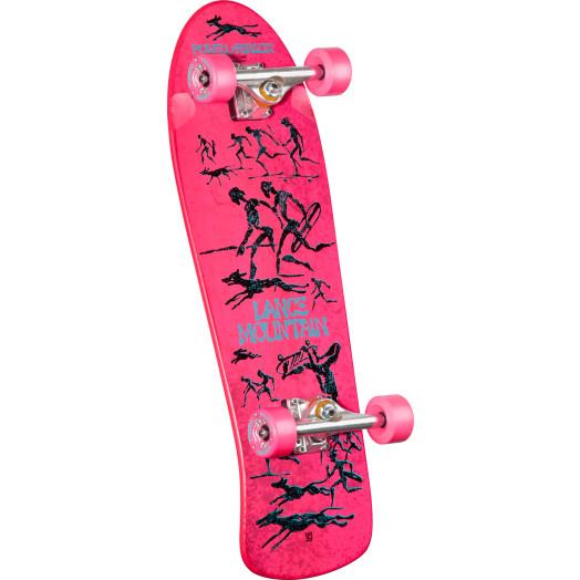 Bones Brigade® Lance Mountain Future Primitive Reissue Deck Complete Skateboard Pink - 10 x 30.75