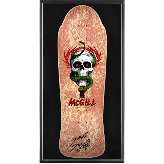 Bones Brigade® Shadowbox McGill Blem Skateboard Deck Natural - Signed by Mike