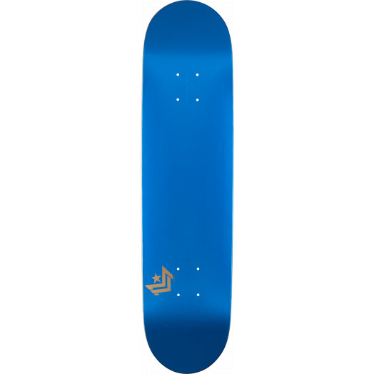 Mini Logo Chevron Skateboard Deck 181 Metallic Blue - 8.5 x 33.5
