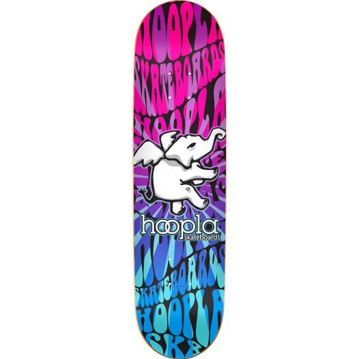 hoopla hippie stick Skateboard Deck 127 - 8 x 32.125