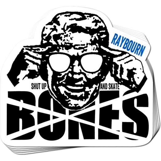 BONES WHEELS Pro Raybourn Sticker 20 pk