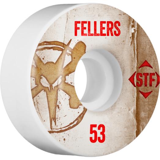 BONES WHEELS STF Pro Fellers Team Vintage Wheel 53mm 4pk