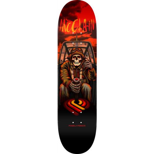 Powell Peralta Pro Brad McClain Pilot Skateboard Blem Deck - 8.25 x 31.95