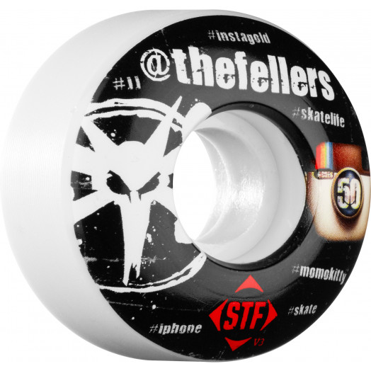 BONES WHEELS STF Pro Fellers #Hashtag 50mm (4 pack)