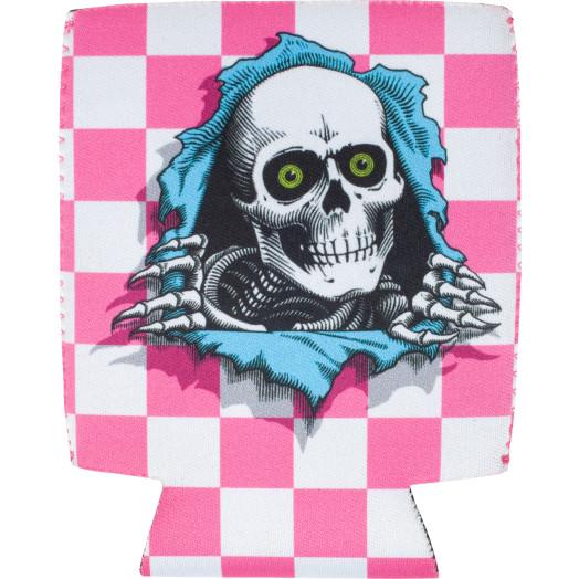 Powell Peralta Ripper Koozie Checker Pink
