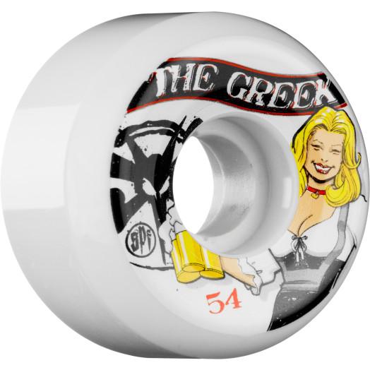 BONES WHEELS SPF Pro Jimmy the Greek Saint 54mm (4 pack)