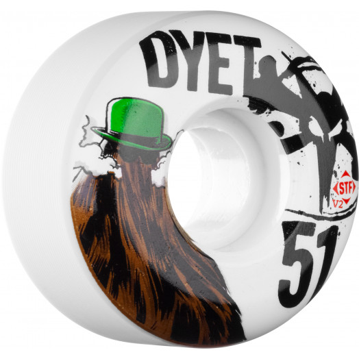 BONES WHEELS STF Pro Dyet Dye It 51mm 4pk