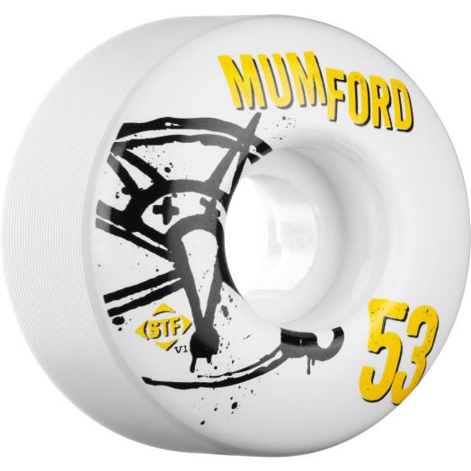 BONES WHEELS STF Pro Mumford Numbers 53mm 4pk
