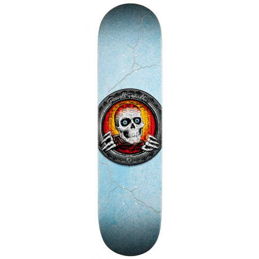 Powell Peralta Pool Light Ripper Skateboard Deck Red - 8.5 x 33.5