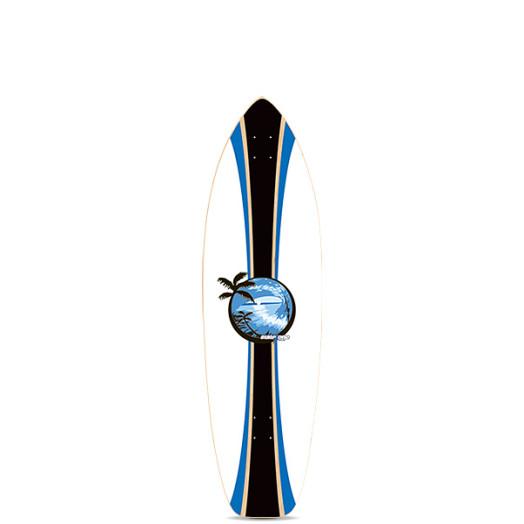 Surf One Sunset 2 Skateboard Deck - 8.75 x 29.625