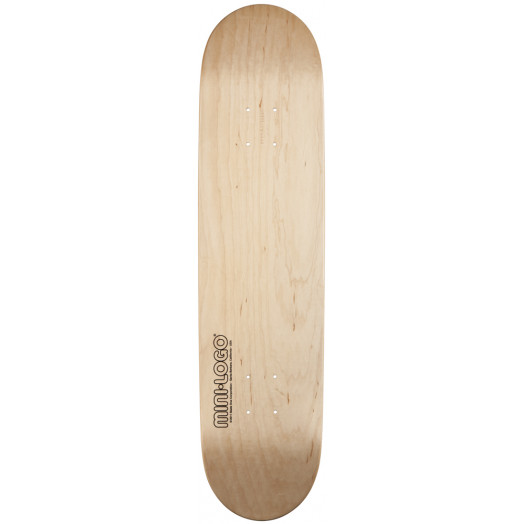 Mini Logo 112 K12 Skateboard Deck Natural - 7.75 x 31.75