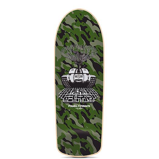 Powell Peralta Alan Ollie Gelfand Tank Reissue Skateboard Deck - 10 x 30