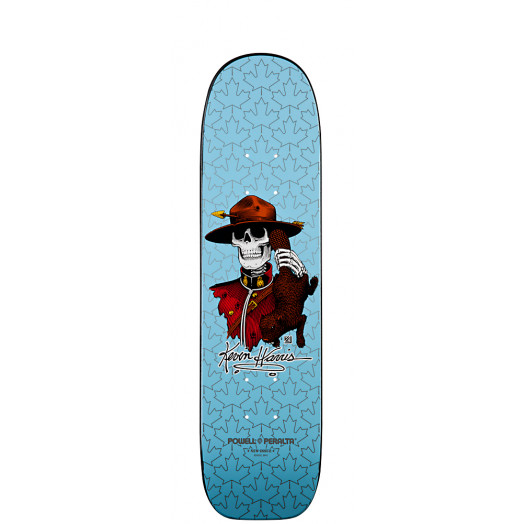 Powell Peralta Kevin Harris Mountie Skateboard Deck - 7 x 26.6