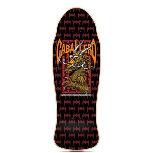 Powell Peralta Steve Caballero Street Reissue Skateboard Deck - 9.625 x 29.75
