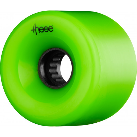 these wheels ATF Centerset 327 66mm 82a Green (4pack)