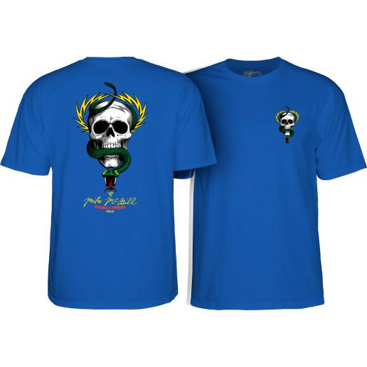 Powell Peralta Mike McGill Skull & Snake T-shirt - Royal Blue
