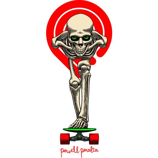 Powell Peralta Tucking Skeleton Sticker 20pk