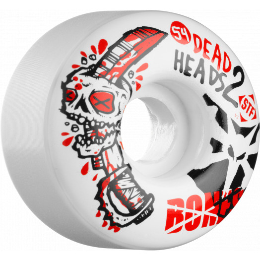 BONES WHEELS STF Dead Heads 2 54mm (4 pack)