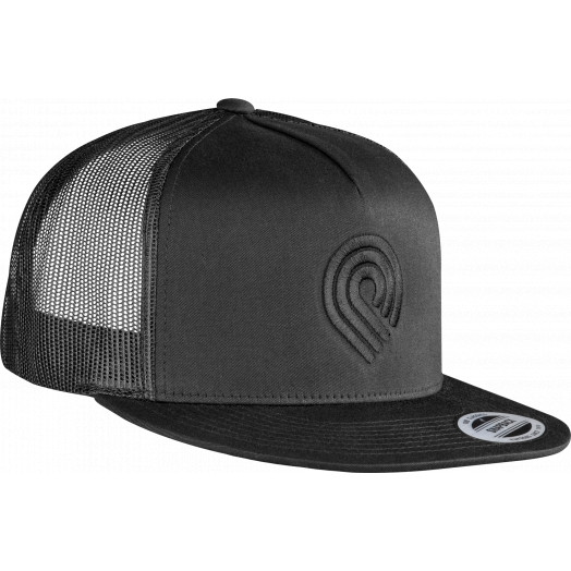 Powell Peralta Triple P Trucker Cap - Black