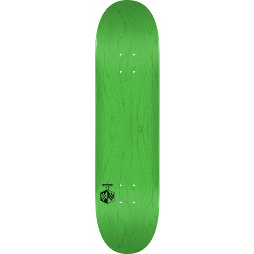 "MINI LOGO DETONATOR ""15"" SKATEBOARD DECK 243 K20 GREEN - 8.25 x 31.95"