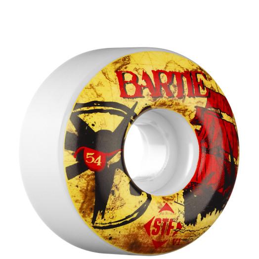 BONES WHEELS STF Pro Bartie Pi-Rat 54mm Wheel (4 pack)