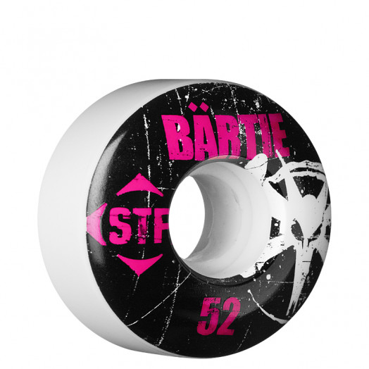 BONES WHEELS STF Pro Bartie Rocker 52mm White (4pk)