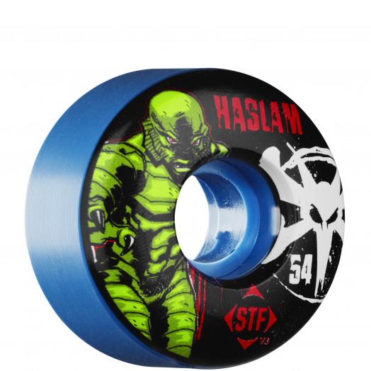 BONES WHEELS STF Pro Haslam Lagoon Wheel 54mm Blue (4 pack)