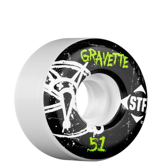BONES WHEELS STF Pro Gravette Oh Gee 51mm (4 pack)