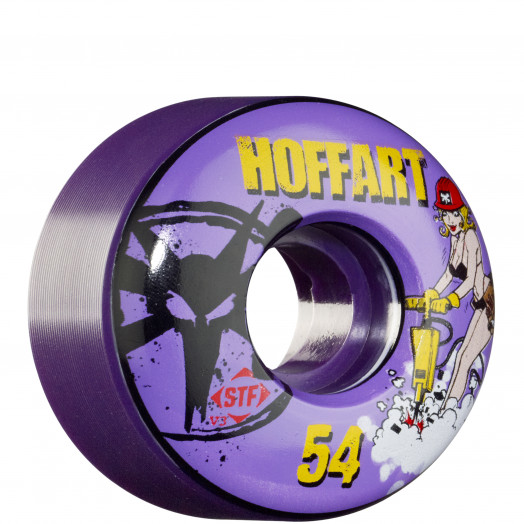 BONES WHEELS STF Pro Hoffart Jack Hoff 54mm - Purple (4 pack)