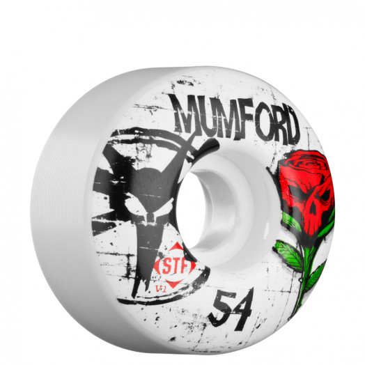 BONES WHEELS STF Pro Mumford Tuff Love 54mm Wheel (4 pack)