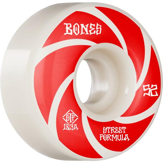 BONES WHEELS STF Skateboard Wheels Patterns 52 V1 Standard 103A 4pk