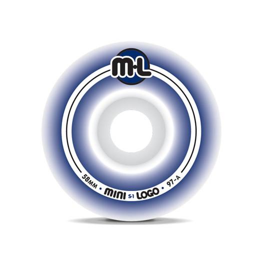 Mini Logo S-1 Wheels 58/97a (4 pack)
