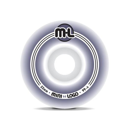 Mini Logo S-2 Wheels 53/99a(4pack)