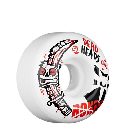 BONES WHEELS STF Dead Heads 50mm (4 pack)