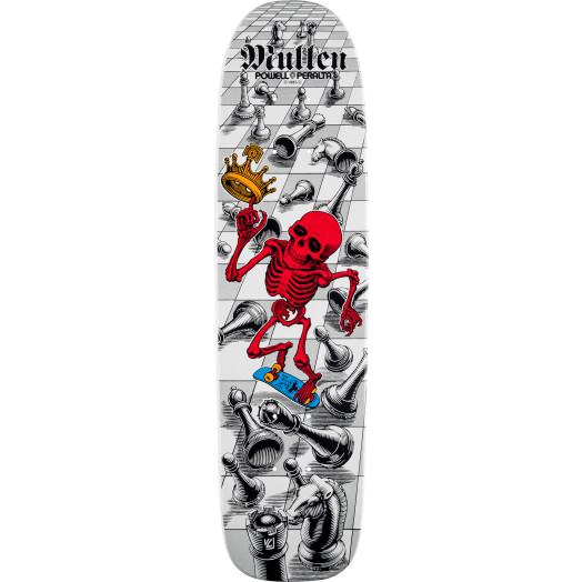 Pre Sale - Bones Brigade Rodney Mullen 9th Series Reissue Skateboard Deck - 7.4 X 27.625