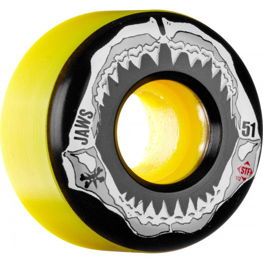 BONES WHEELS STF Pro Homoki Grill Yellow 51mm 4pk
